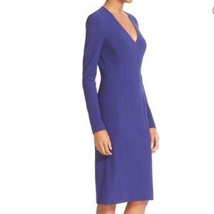 Diane Von Furstenberg Milena Blue dress